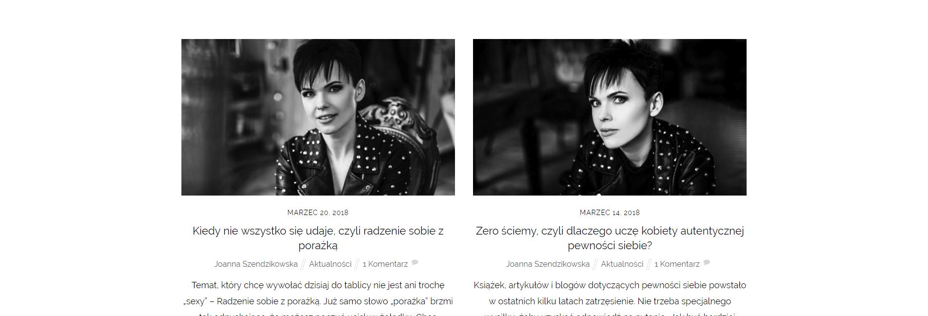 Blog Joanna Szendzikowska