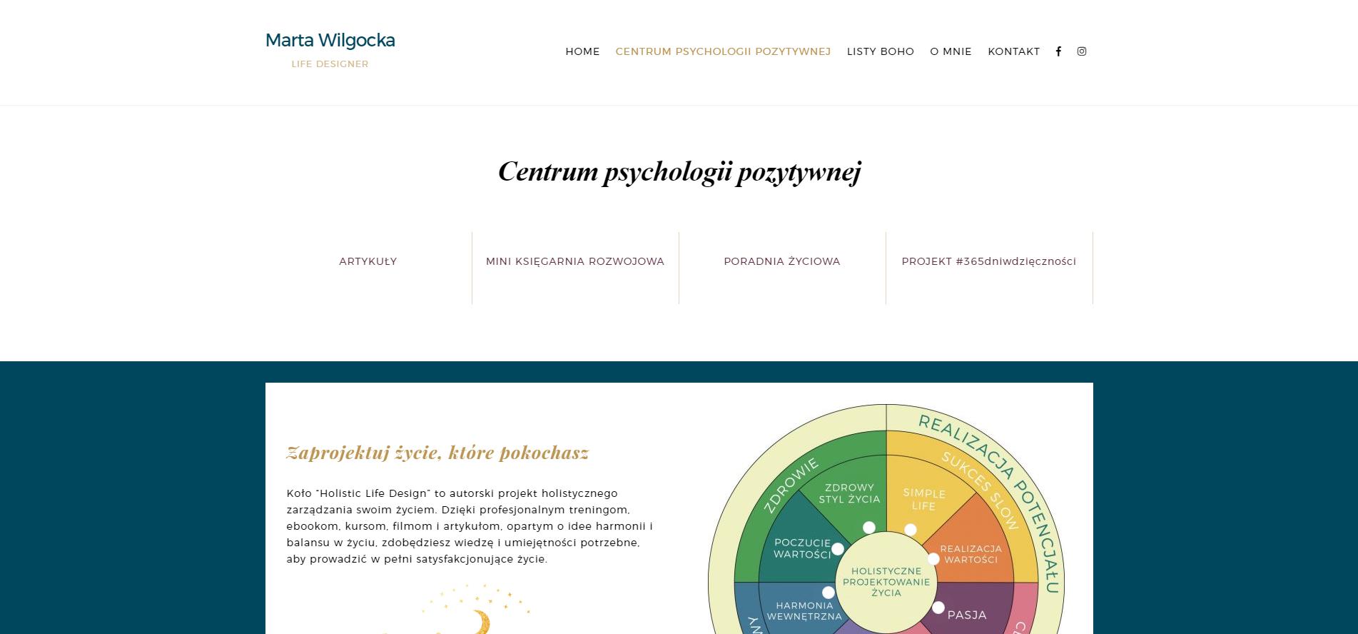 Centrum psychologii pozytywnej - Marta Wilgocka